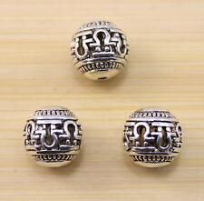 6/15/30 pcs wholesale: Very beautiful Tibet silver big interval beads  14x14mm