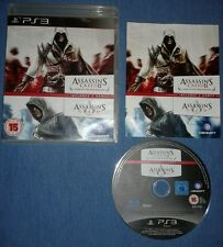 Assassins Creed 2 Game of Year Edition + Creed 1 Double Pack (PlayStation 3) GC.