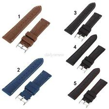 Mens Silicon Rubber Waterproof Divers Watch Strap Band Wristwatch Band 20mm 22mm
