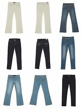 NWT Girls Jordache Adjustable Waist Jeans 2-Pair Lot Size 4 Super Skinny Bootcut