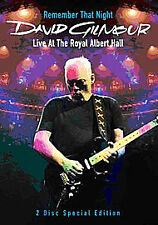 David Gilmour - Remember That Night - Live At The Royal Albert Hall (DVD,...