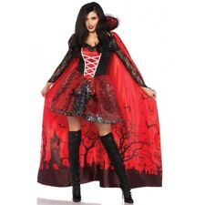 Vampire Ladies Countess Devil Princess Halloween Party Fancy Dress Costume