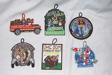 Cub Scout Patches Camp Raven Knob Parent Son Camporee Old Hickory Council 6 yrs.