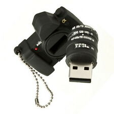 New Arrival Black Camera 8GB USB Flash Pen Drive Memory Stick Thumb Pendrive KG
