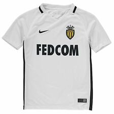 Nike AS Monaco Away Jersey 2016 2017 Juniors Dark Obsidian Football Soccer Shirt