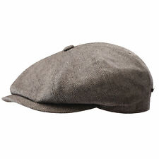 New Stetson Hatteras Cashmere Silk Blend Newsboy Hat Cap