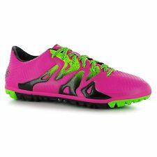 Adidas X 15.3 Astro Turf Football Trainers Mens Shock Pink Soccer Shoes