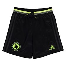 Adidas Chelsea FC Training Shorts Juniors Black/Granite Football Soccer