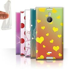 STUFF4 Gel/TPU Case/Cover for Nokia Lumia 1520/Ombre Pattern