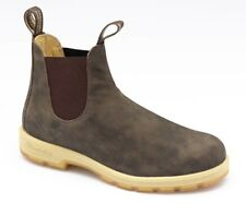Blundstone Urban 1319 Leather Lined Rustic Brown Nubuk Leather Boots