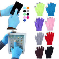 1pair Soft Winter Men Women Touch Screen Gloves Texting Capacitive Smartphone