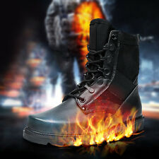 Fashionable Men's Retro Combat boots Winter England-style short Jungle shoes