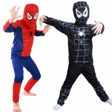 Boys Girls Kids Superhero Cosplay Fancy Dress Outfit Halloween Costume 3-7 Years