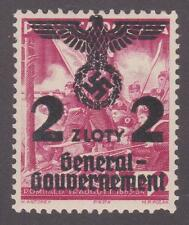 Poland (German Occupation) 1940 # N46 Surcharge in Black MNH