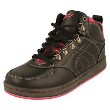 Lades Mercury Hi Top Trainers/Boots; Style Jackie -w