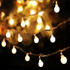 LED String Lights Ball Fairy Light Party Christmas Indoor outdoor Decoration RF