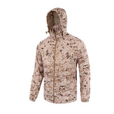 Men Outdoor Army Hiking Combat Tactical Quick Dry Anti-UV Jacket Ultra-thin Coat