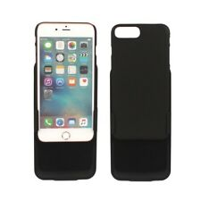 """For Iphone 7 4.7"""" 5.5"""" Plus Black Rubber Hard Case Belt Clip Holster Stand"""