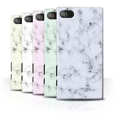 STUFF4 Back Case/Cover for Sony Xperia Z5 Compact/4.6/Marble Rock Granite Effect