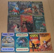 Lot of 10 HARDY BOYS Books by Franklin Dixon (HC and Paperback)
