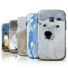 STUFF4 Back Case/Cover/Skin for Samsung Galaxy Y Duos/S6102/Arctic Animals