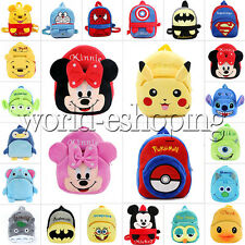 Cute Kid Soft Plush Pokemon Cartoon Animal School Backpack Rucksack Shoulder Bag