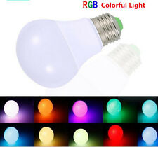 10W E27 B22 LED RGB Magic Light Bulb Lamp 16 Color Changing IR Remote Control