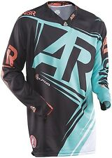 NEW Answer ALPHA Racing A15 Black Green Teal Jersey motocross atv off road adult