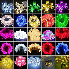 Battery Powerd LED String Fairy Lights Christmas Xmas Party Indoor Outdoor Decor