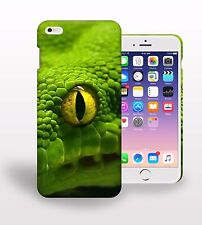 Green Giant Snake Predator Eyed Scare Printed Phone Case Cover