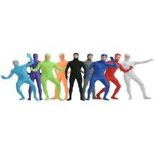 Open Face Full Lycra Spandex Zentai Suit Unisex Catsuit Skin Tight Costume S-XXL