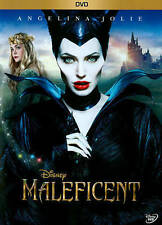 MALEFICENT (DVD, 2014) DISNEY ANGELINA JOLIE FAIRY GOD MOTHER TALE WICKED BEAUTY