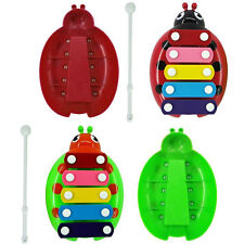 Hottest 5-Note Xylophone Musical Beetle Toy Baby Kids Wisdom Developmental Toy