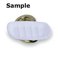 Elizabethan Classics EC SD PB Soap Dish Polished Brass