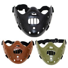 New RESIN The Silence of the Lambs Hannibal Lecter Mask Collection Costume Props