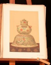 1881 Keramic Art Japan First Edition Illustrated Audsley Bowes Hizen Kaga Kioto
