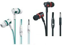 Stereo Earphone Headphone Microphone Bass Earbud Music 3.5mm Plug Iphone Android