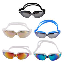 Adult Adjustable Non-Fogging Anti UV Protection Swimming Goggle Swim Glasses New