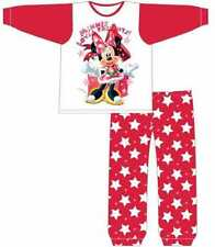 Girls Childrens Official Disney Minnie Mouse Christmas Pyjama Xmas Gift Set