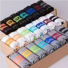 7 Pairs Men's Lot Fashion Casual Dress Socks Cotton Ankle Week Crew Socks e8