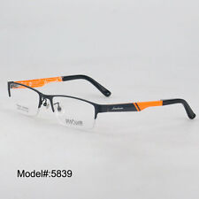 5839 half rim metal  myopia eyewear eyeglasses prescription spectacles frames