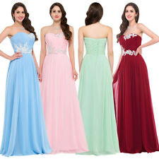 Noble Women's Long Prom Dresses Party Formal Evening Gowns Bridesmaids Dress