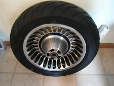 REALLY NICE 2009-16 HARLEY DAVIDSON ULTRA CLASSIC RIM AND TIRE PACKAGE FOR ABS