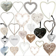 Hanging Hearts  Vintage Style Heart Shabby Chic Home Decoration Christmas Gift