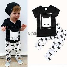 Baby Girl Clothing Sets Newborn Baby Boy Outfit Short T-Shirt+Pants Clothes Set