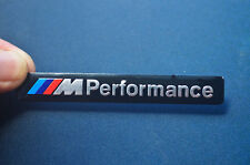2Pcs M Performance Car Logo Body side Decal Sticker Emblem Fit for BMW M Series