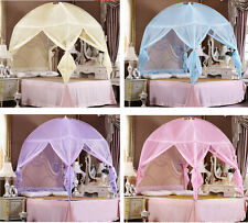 Princess Bedding Canopy Mosquito Net Tent  For Twin Full Queen King Bed Size