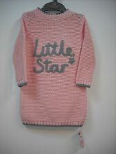 BNWT Mothercare Knitted Jumper Dress & Matching Tights. Girls. Age 3-24 Months