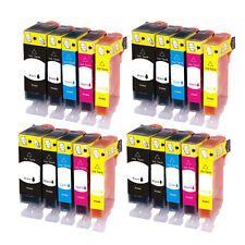 4 SET Premium CHIPPED Ink Cartridge Replace for Canon Pixma Printer