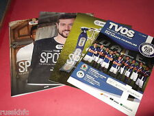 2016/17 ROCHDALE HOME PROGRAMMES CHOOSE FROM